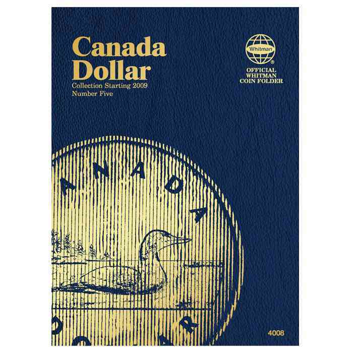 Canadian Dollar Folder #5 By Whitman Publishing (COR)